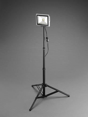 エスコ(ESCO) AC100V/30W 作業灯/LED(スタンド付) EA814RA-31