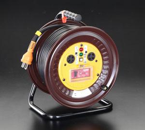 品質は非常に良い コードリール(三相・過負荷漏電遮断) エスコ(ESCO) 店 EA815DY-3:工具屋のプロ AC200Vx30m-DIY・工具