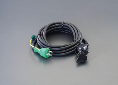 エスコ(ESCO) AC125V/15A/30m 延長コード(アース付/防雨型) EA815GB-39