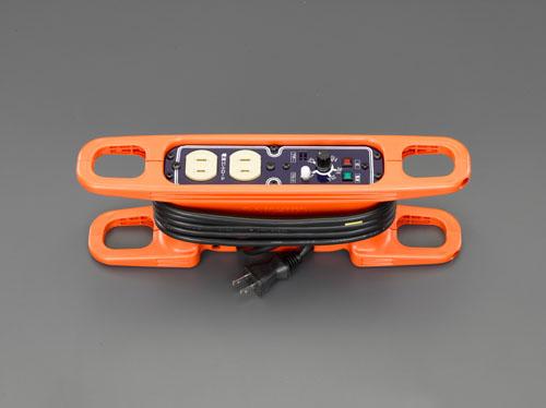 エスコ(ESCO) AC125V/15A/3m コードリール(電流コントロール付 EA815GV-41
