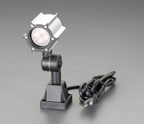 エスコ(ESCO) AC100V/6W 照明灯/LED(防水型/ホワイト) EA815LN-21B