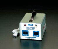 エスコ(ESCO) AC100V→AC115V・125V/1.0KVA 昇圧トランス EA815ZG-1