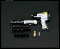 エスコ(ESCO) エアーツール2機種セット EA155DW