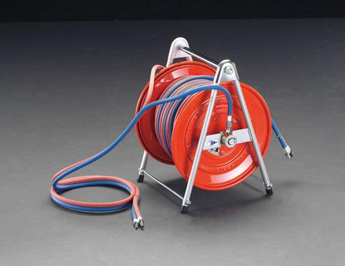 エスコ(ESCO) 20m ガスリール(酸素・アセチレン用) EA300-10B