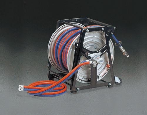 エスコ(ESCO) 30m 逆火防止器付ガスリール(酸素・アセチレン用) EA300-11
