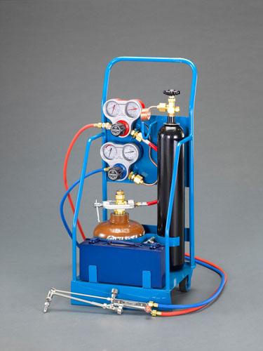 エスコ(ESCO) 溶接溶断セット(アセチレン・酸素) EA300H-1
