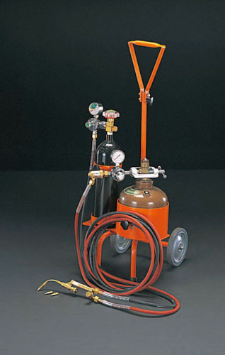 エスコ(ESCO) ミニ溶接器(アセチレン・酸素) EA300T
