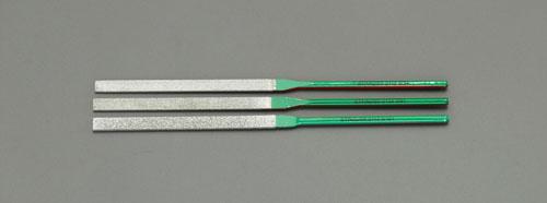 エスコ(ESCO) 3本組 ダイヤモンドヤスリセット EA826VK-100