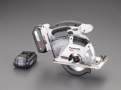 エスコ(ESCO) 135mm/14.4V [充電式]電動丸鋸 EA851PA-1