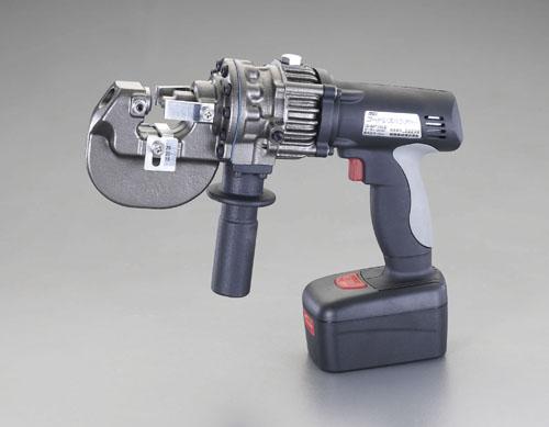代引き手数料無料 油圧パンチャー(充電式) DC18V エスコ(ESCO) EA858HR-1A:工具屋のプロ 店-DIY・工具