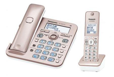 エスコ(ESCO) 電話機(コードレス/子機1台付) EA864BD-160A