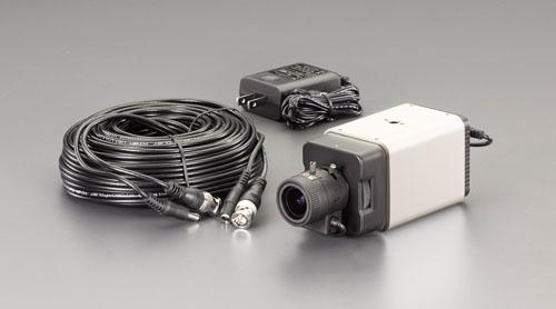 エスコ(ESCO) 防犯カメラ(屋内用) EA864CD-85A