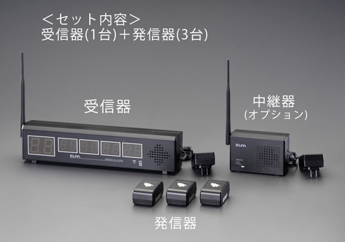エスコ(ESCO) ワイヤレス発信器 EA864CF-50