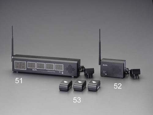 エスコ(ESCO) ワイヤレス受信機 EA864CF-51