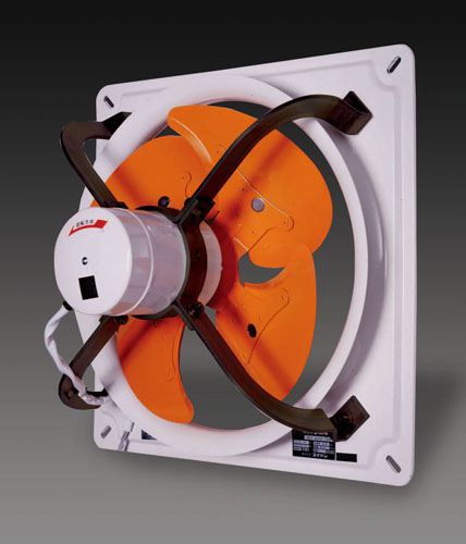 エスコ(ESCO) AC100V/250W/φ50cm 工業用換気扇(3速) EA897E-50B