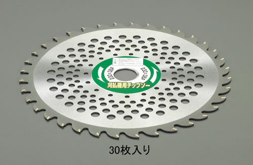 エスコ(ESCO) 230mmx36T 超硬チップソー(草刈機用/30枚) EA898B-61