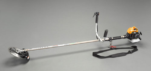エスコ(ESCO) φ255mm 草刈機(エンジン付) EA898RC-28