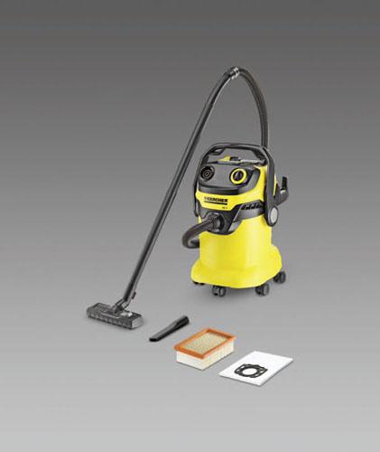 エスコ(ESCO) AC100V/900W/25.0L 乾湿両用掃除機 EA899KH-2B
