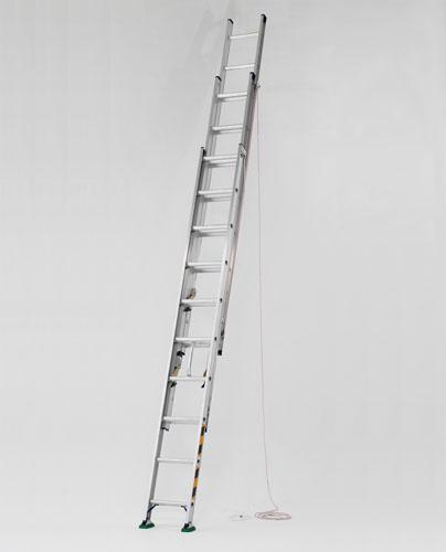【直送】【代引不可】エスコ(ESCO) 3.84-8.33m 三連はしご EA902AG-13A
