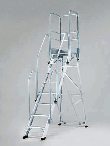 激安通販 【直送】【】エスコ(ESCO) EA903BD-34A:工具屋のプロ 作業台(手摺り付/折畳式) 店 1.75m/7段-DIY・工具