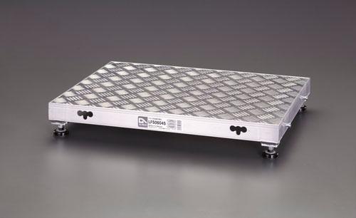 【直送】【代引不可】エスコ(ESCO) 900x450x220mm 低床作業台(伸縮調整脚) EA903BT-13
