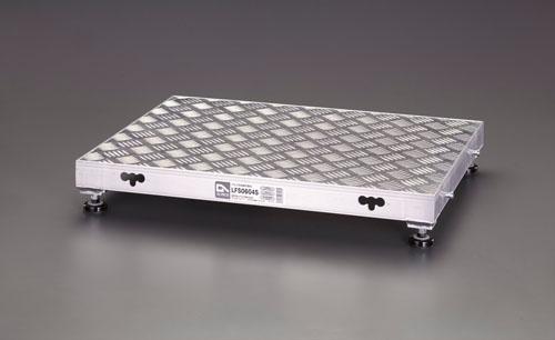 【直送】【代引不可】エスコ(ESCO) 900x600x220mm 低床作業台(伸縮調整脚) EA903BT-14