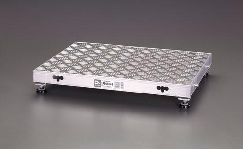 【直送】【代引不可】エスコ(ESCO) 600x450x120mm 低床作業台(伸縮調整脚) EA903BT-2