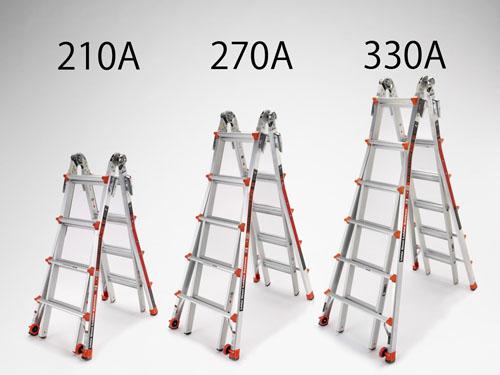 【直送】【代引不可】エスコ(ESCO) 3.3/7.0m 梯子兼用脚立(伸縮式) EA905EC-330A