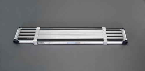 【直送】【代引不可】エスコ(ESCO) 1.41-2.40m 伸縮足場板(アルミ製) EA905MD-1B