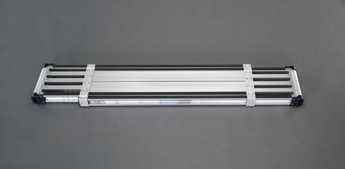 【直送】【代引不可】エスコ(ESCO) 2.40-4.02m 伸縮足場板(アルミ製) EA905MD-4B