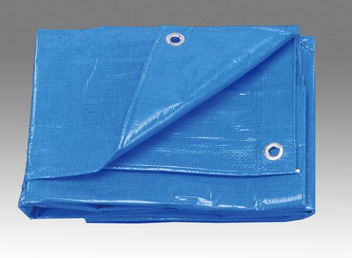 エスコ(ESCO) 7.2x7.2m/0.25mm ブルーシート(#3000/1枚) EA911AB-27