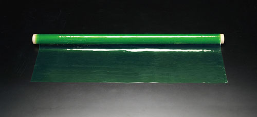 エスコ(ESCO) 915x0.5mmx10m [PVC製]フィルム(イエローグリーン) EA911AG-31