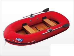 エスコ(ESCO) 265x125cm ゴムボート(4人用) EA915RB-4