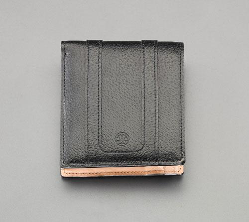 エスコ(ESCO) 95x110x10mm 二つ折り財布 EA927BS-5