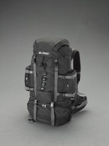 エスコ(ESCO) 711x318x216mm/52L ハイキングパック(黒) EA927CH-29