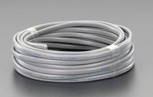 エスコ(ESCO) 300V/19A/20m ビニールキャブタイヤ ケーブル(3芯/黒) EA940AG-26
