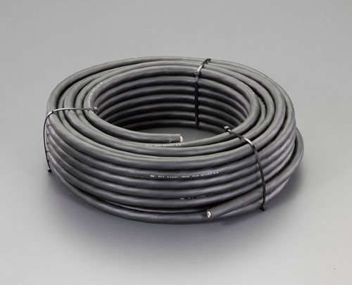 エスコ(ESCO) 600V/25A/50m ゴムキャブタイヤ ケーブル(4芯) EA940AG-415A