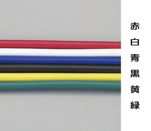 エスコ(ESCO) 2.0mx100m ビニール絶縁電線[KIV](青) EA940AN-203B