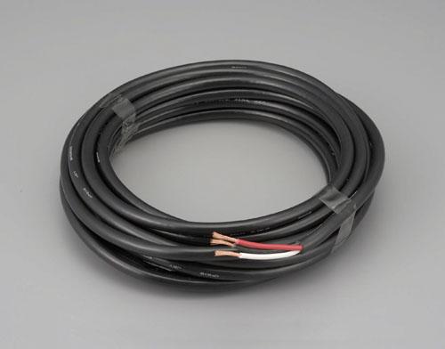 エスコ(ESCO) 2.0mx20m/3芯 [2種EPゴム]キャブタイヤケーブル EA940AY-22