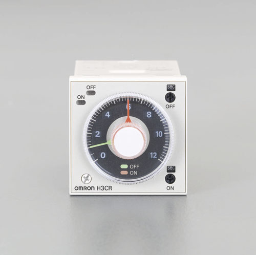 エスコ(ESCO) AC100-240V ツインタイマー(11ピン) EA940LG-22