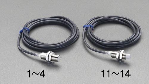 エスコ(ESCO) M30/直流2線 近接センサー(20mm・非シールド) EA940LN-14