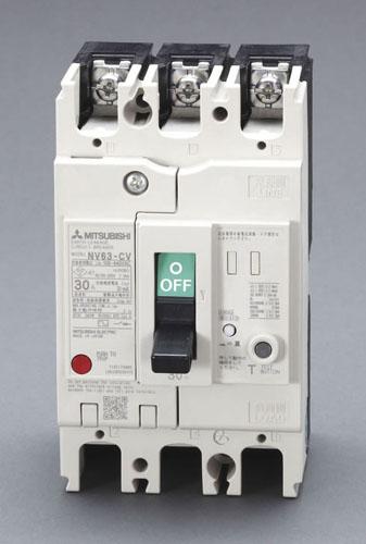 エスコ(ESCO) AC100-440V/15A/3極 漏電遮断器(フレーム60) EA940MN-31