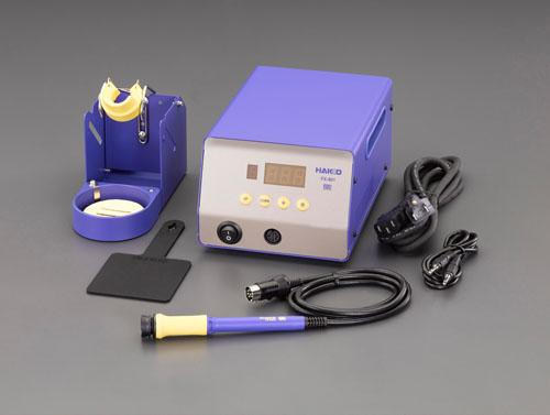 エスコ(ESCO) 100V/300W コントローラ付半田ごて(温度表示付) EA304AM