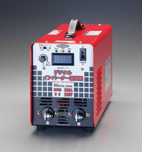 エスコ(ESCO) 単相200V/230A デジタルインバーター直流溶接機 EA315HJ-2