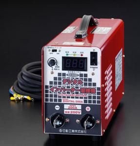 エスコ(ESCO) 単相200V/200A デジタルインバーター直流溶接機 EA315HL