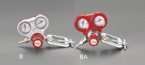 エスコ(ESCO) アセチレン調整器(保護カバー付) EA316BA