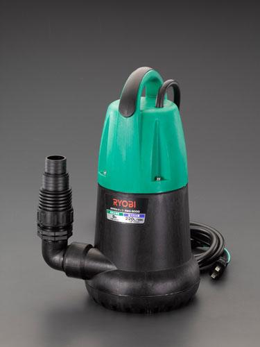 エスコ(ESCO) AC100V(60Hz)/50mm 水中ポンプ(汚水用) EA345CC-60