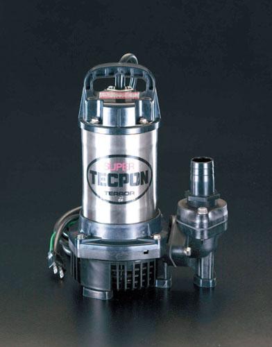 エスコ(ESCO) AC100V(60Hz)/40mm 水中ポンプ(汚水用) EA345JH-60