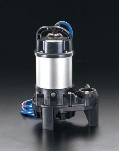 エスコ(ESCO) AC100V(60Hz)/40mm 水中ポンプ(海水用) EA345RP-60