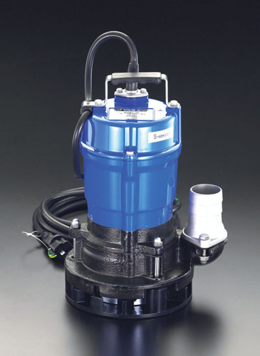 エスコ(ESCO) AC100V(50Hz)/50mm 水中ポンプ(一般工事用) EA345RY-50